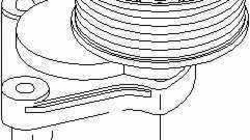 rola intinzator curea alternator FORD MONDEO IV limuzina (BA7) TOPRAN 302 153