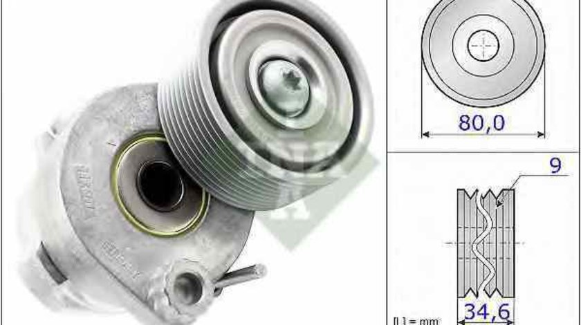 rola intinzator curea alternator MERCEDES-BENZ CONECTO O 345 INA 531 0605 30