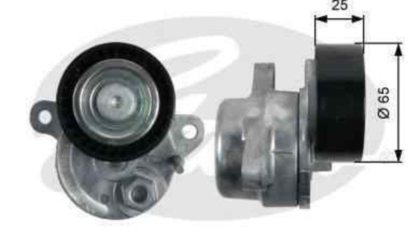 rola intinzator curea alternator MERCEDES-BENZ GLK-CLASS (X204) GATES T39212