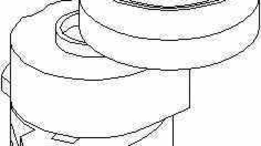 Rola intinzator curea alternator OPEL ASTRA F Cabriolet 53B TOPRAN 205 736