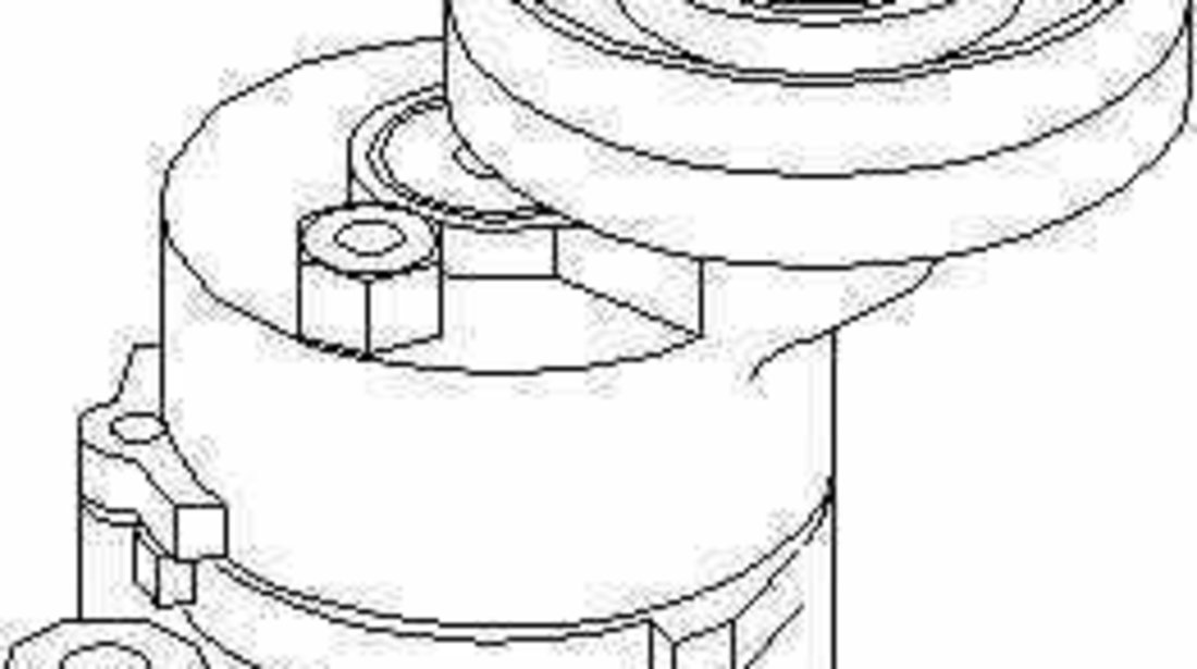 rola intinzator curea alternator OPEL ASTRA G hatchback F48 F08 TOPRAN 205 740