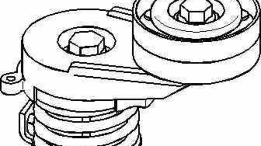 rola intinzator curea alternator OPEL ASTRA H combi L35 TOPRAN 206 901