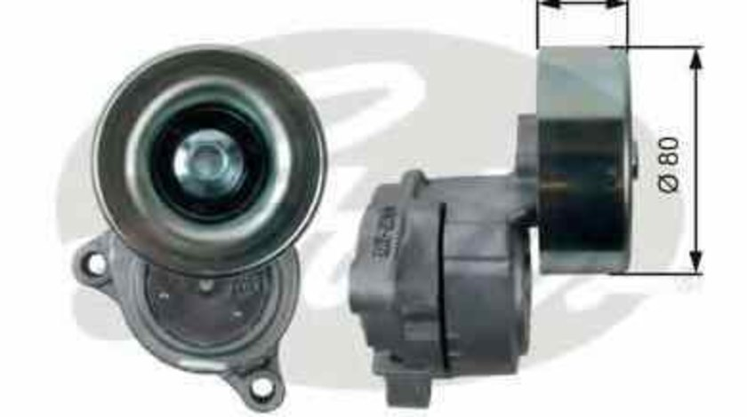 rola intinzator curea alternator SUBARU OUTBACK BE BH GATES T38489