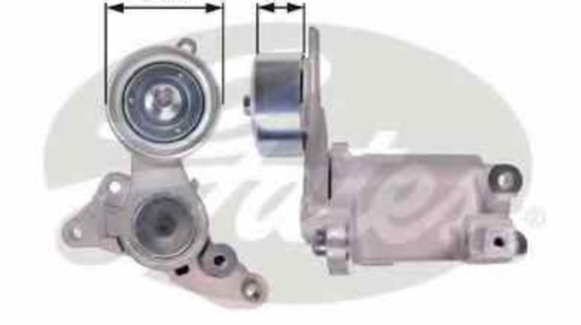 rola intinzator curea alternator TOYOTA HILUX III pick-up TGN1 GGN2 GGN1 KUN2 KUN1 GATES T39135