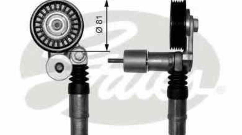 rola intinzator curea alternator VW GOLF IV 1J1 GATES T38306