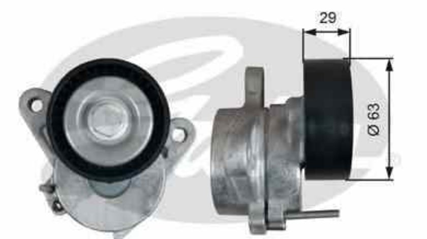 rola intinzator curea alternator VW GOLF VII 5G1 BE1 GATES T39292