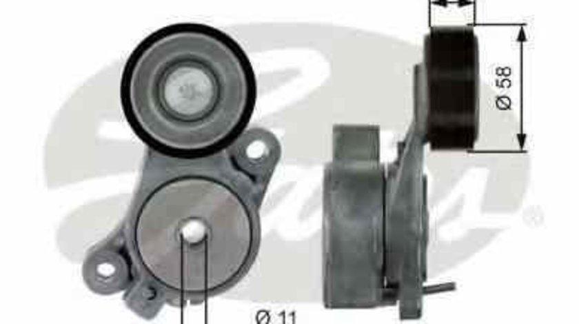 rola intinzator curea alternator VW PASSAT CC 357 GATES T39040