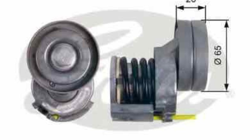rola intinzator curea alternator VW TIGUAN (5N_) GATES T39023