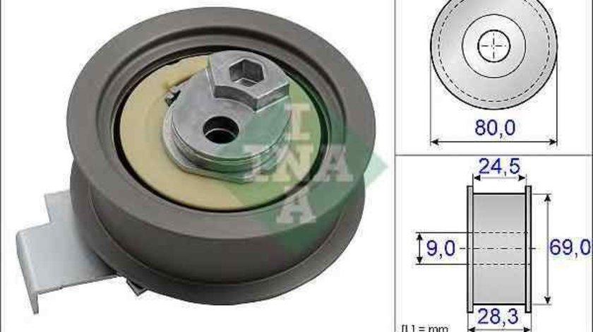 Rola intinzator,curea distributie AUDI A4 Avant (8E5, B6) INA 531 0840 10