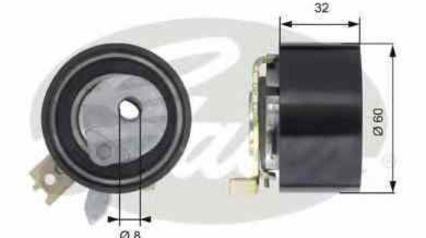 Rola intinzator curea distributie DACIA DUSTER GATES T43014