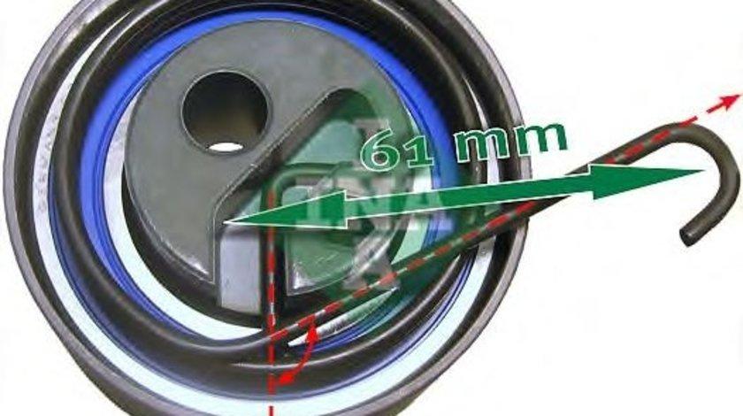 Rola intinzator,curea distributie HONDA CIVIC VII Hatchback (EU, EP, EV) (1999 - 2006) INA 531 0535 20 produs NOU