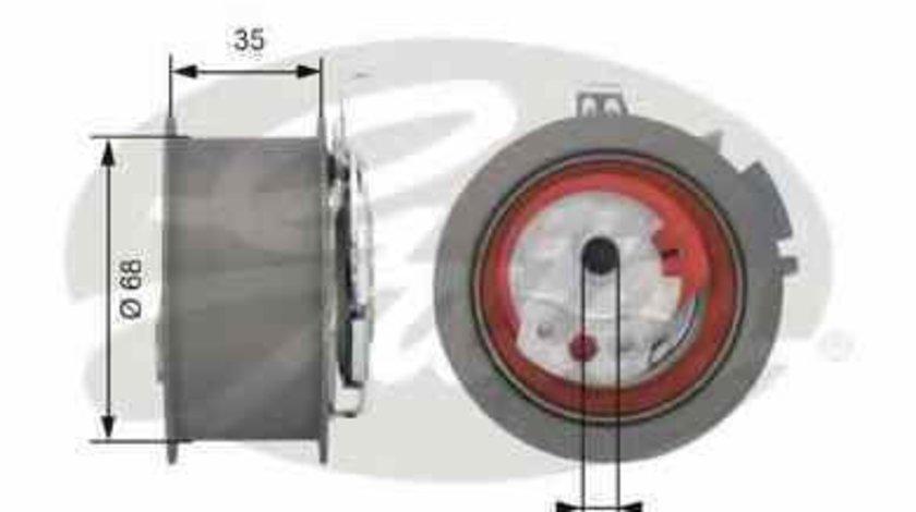 rola intinzator curea distributie SEAT LEON 1P1 GATES T43151