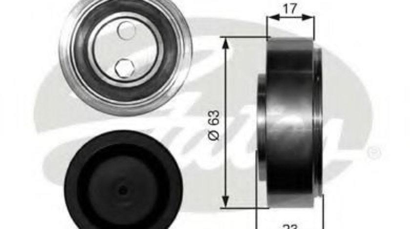 Rola intinzator,curea transmisie AUDI A4 Avant (8E5, B6) (2001 - 2004) GATES T38228 piesa NOUA