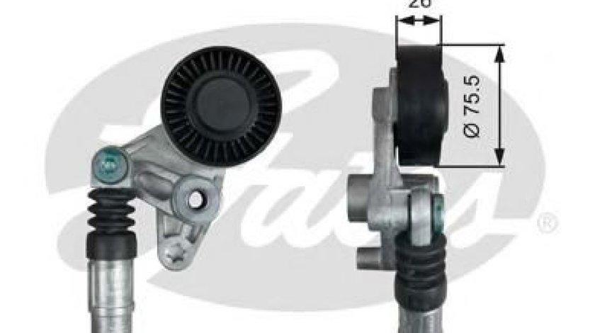 Rola intinzator,curea transmisie AUDI A4 Cabriolet (8H7, B6, 8HE, B7) (2002 - 2009) GATES T39043 piesa NOUA