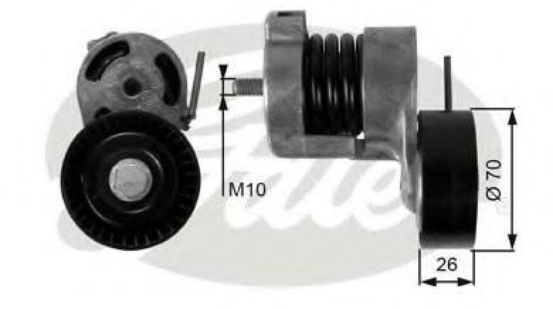 Rola intinzator,curea transmisie BMW Seria 1 Cupe (E82) (2007 - 2013) GATES T39010 produs NOU