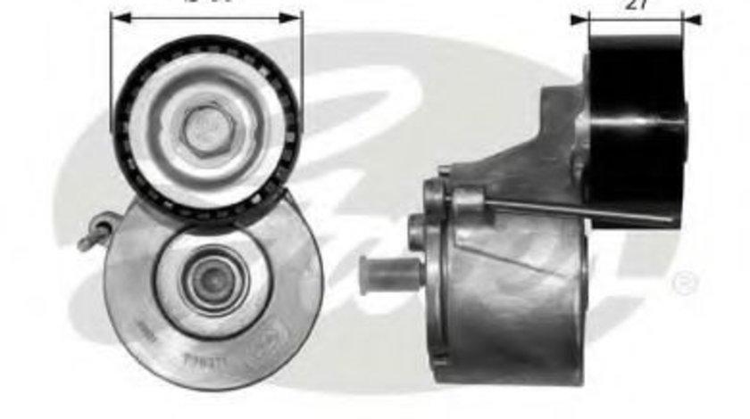 Rola intinzator,curea transmisie FORD FUSION (JU) (2002 - 2012) GATES T38371 produs NOU