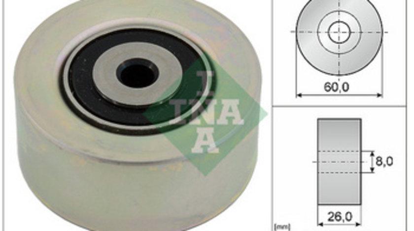 Rola intinzator curea transmisie INA 531055010 Peugeot / Citroen ( LICHIDARE DE STOC)