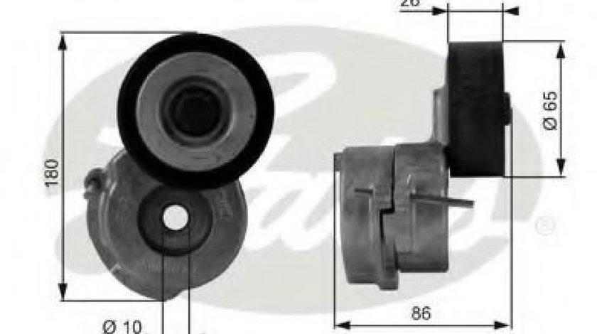 Rola intinzator,curea transmisie OPEL ASTRA H Combi (L35) (2004 - 2016) GATES T38440 - produs NOU