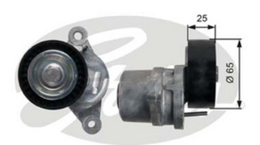 Rola intinzator curea transmisie Peugeot / Citroen 1.6 HDI T39189 ( LICHIDARE DE STOC)