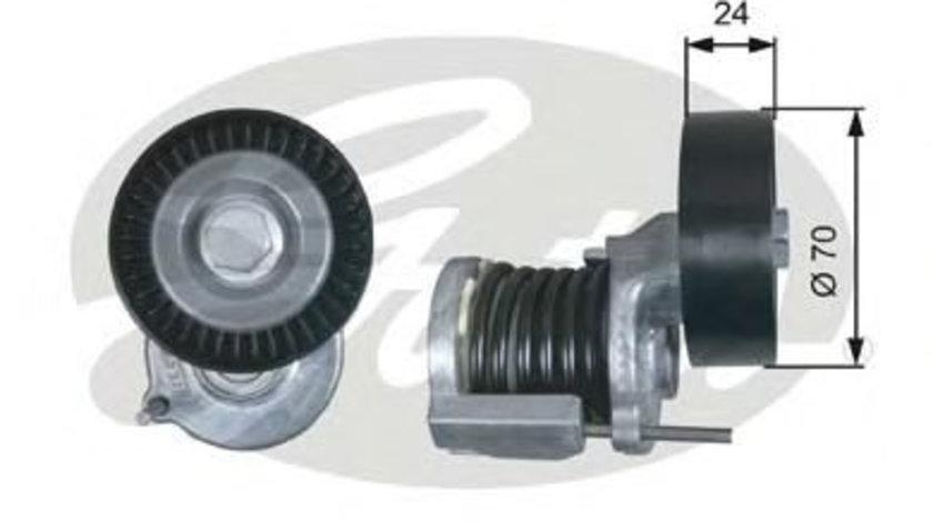 Rola intinzator,curea transmisie VW CRAFTER 30-50 platou / sasiu (2F) (2006 - 2016) GATES T38427 piesa NOUA