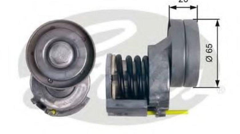 Rola intinzator,curea transmisie VW GOLF VI Variant (AJ5) (2009 - 2013) GATES T39023 - produs NOU