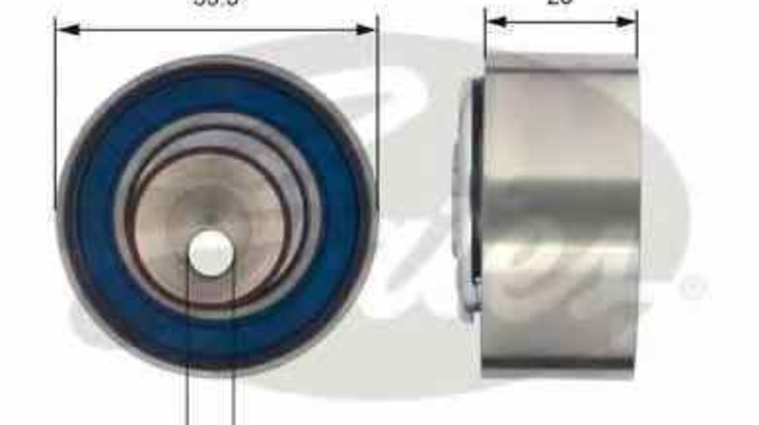 rola intinzatorcurea distributie FIAT SIENA GATES T43156