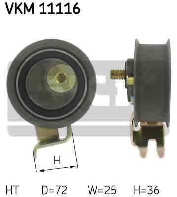 rola intinzatorcurea distributie SEAT LEON 1M1 SKF VKM 11116