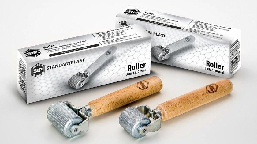 Rola metalica 40 mm pentru aplicarea materialului insonorizant STP Roller