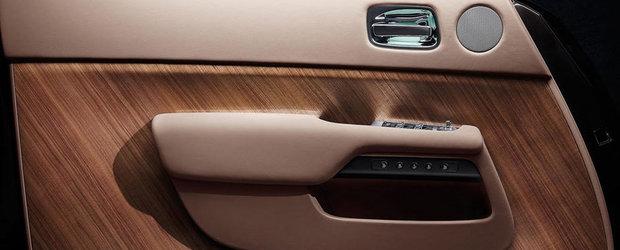 Rolls-Royce a publicat 2 noi imagini teaser cu modelul Wraith