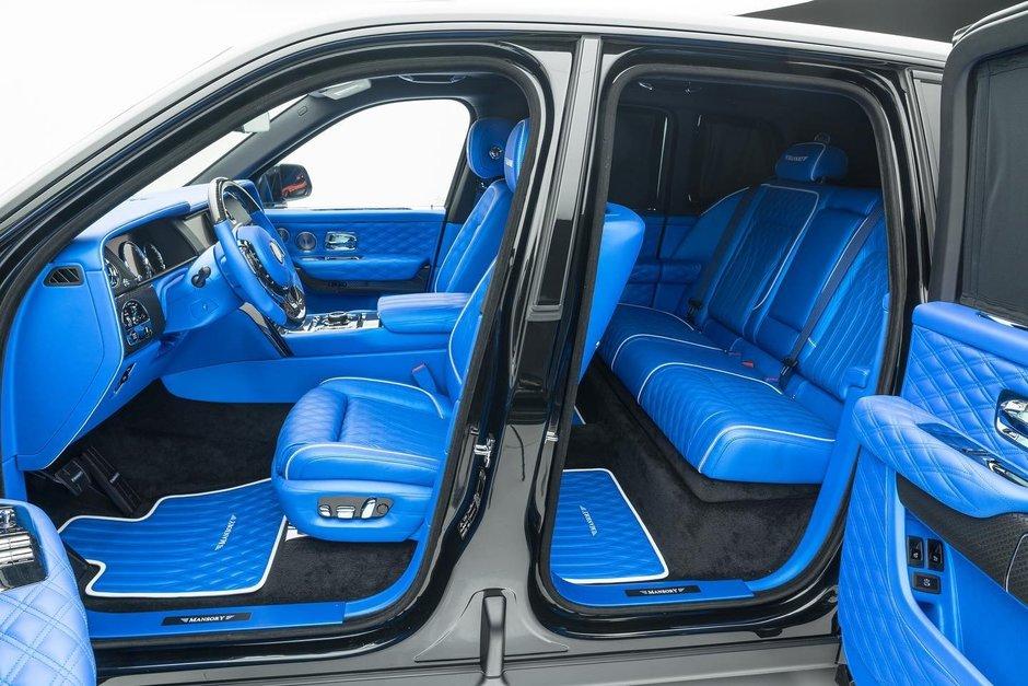 Rolls Royce Cullinan Black Badge de la Mansory