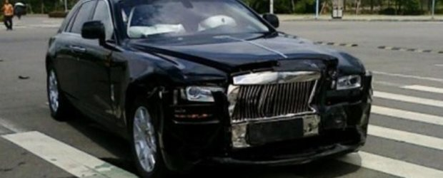 Rolls-Royce Ghost, accidentat in China