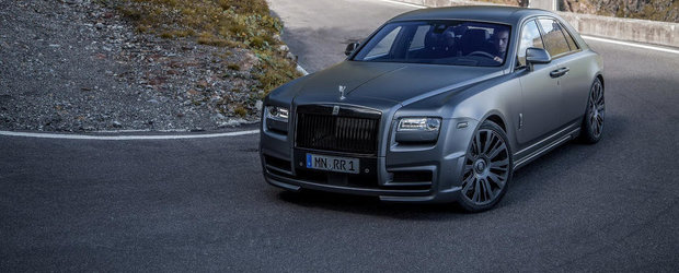 Rolls-Royce Ghost by SPOFEC sau Cum transformi o limuzina in masina sport