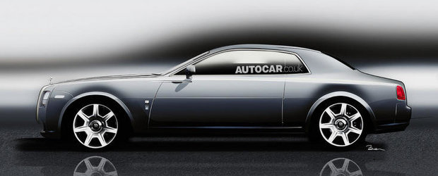 Rolls-Royce Ghost va beneficia de o versiune coupe