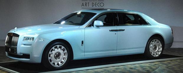 Rolls - Royce introduce pe piata din Hong Kong versiunea Ghost Art Deco