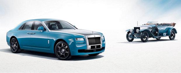 Rolls Royce lanseaza editia speciala Ghost Alpine Trial Centenary Collection