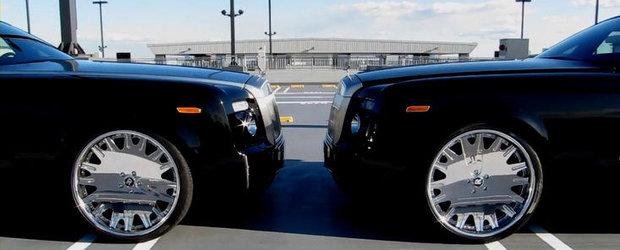 Rolls Royce Phantom Coupe cu jante pe 24 inci