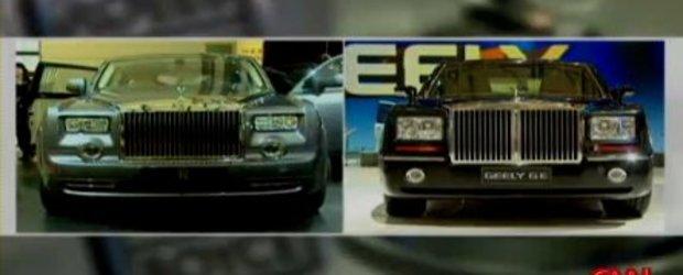 Rolls Royce Phantom versus Geely GE