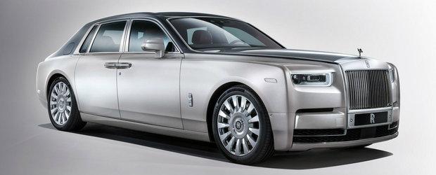 Rolls-Royce prezinta noul Phantom. Masina britanica e cea mai silentioasa din lume