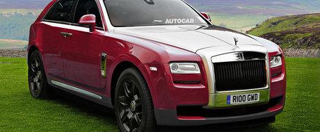 Rolls Royce se gandeste la solutii noi pentru productia primului sau SUV
