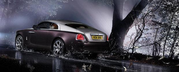 Rolls-Royce vrea sa uimeasca cu o noua versiune decaptabila a lui Wraith