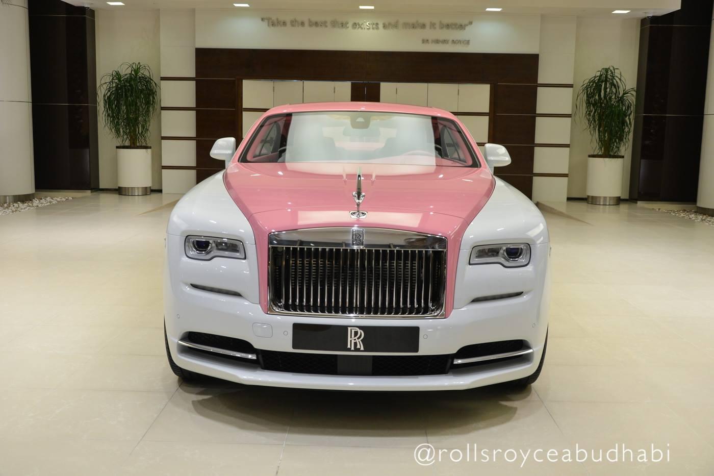 Rolls-Royce Wraith alb-roz - Rolls-Royce Wraith alb-roz