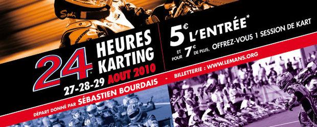 Romania reprezentata la competitia internationala 24H Karting