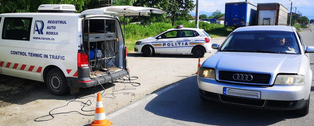 Romania s-a umplut de rable. Mai bine de jumatate dintre masinile oprite zilele trecute in trafic, descoperite cu probleme majore
