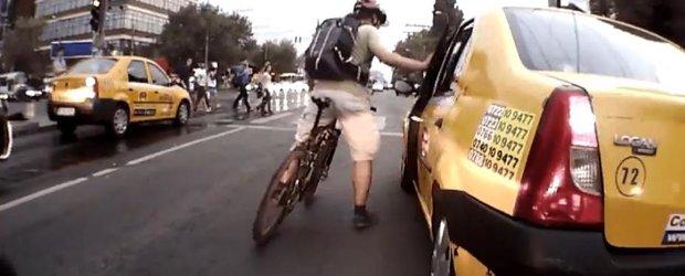 Romania vs. Statele Unite: cine sta mai bine la luptele dintre taximetristi si biciclisti?