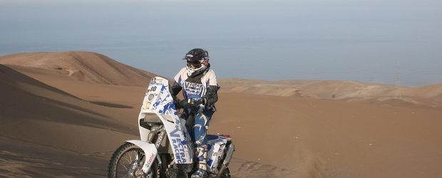 Romanii au terminat cu brio prima saptamana de Dakar 2011