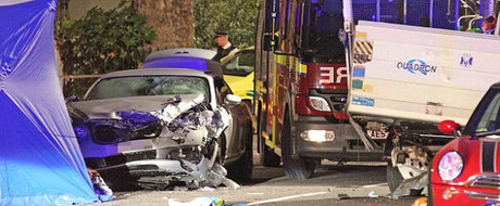 Romanii se fac de rahat si in Anglia: un musculos drogat cu Bentley a omorat un pieton