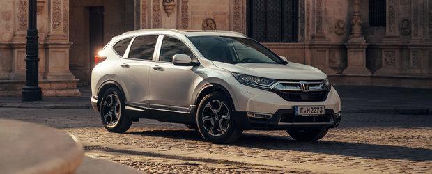 """Romanii vor tabari pe el. Noul SUV Honda are consum """"de masina mica"""" si lista de dotari standard kilometrica"""