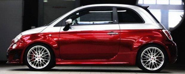 Romeo Ferraris transforma noul Fiat 500C Abarth intr-un cabriolet irezistibil!