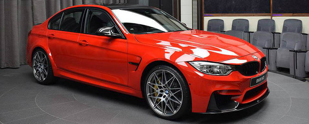 Rosul Ferrari e culoarea care da bine pe orice BMW M3