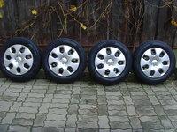 Roti de iarna(jante tabla 5x115 pe 16 orig.Opel Zafira C(Tourer),Astra J+anv.iarna 215/60R16+capace)